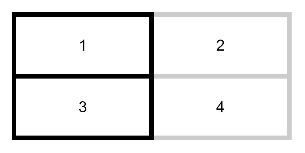 隣接する罫線(ビューワ)